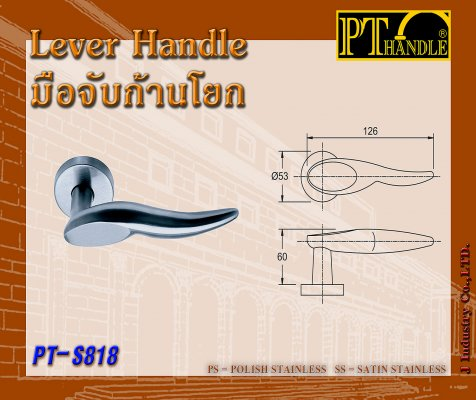 Lever Handle (PT-S818)