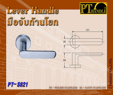 Lever Handle (PT-S821)
