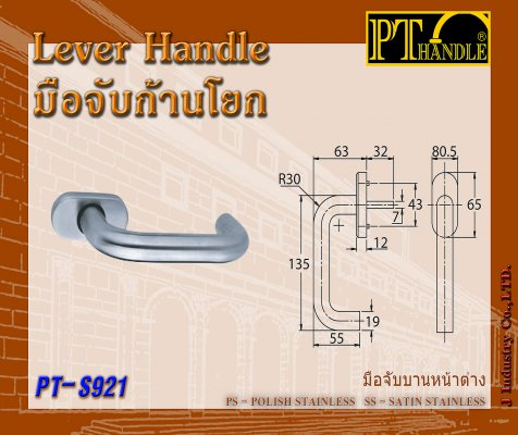 Lever Handle (PT-S921)